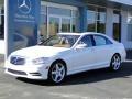 Diamond White Metallic - S 550 Sedan Photo No. 1