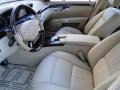 2011 S 550 Sedan Cashmere/Savanah Interior