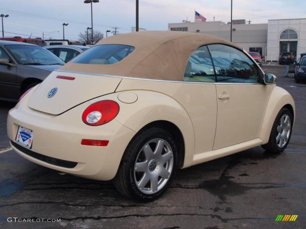 harvest moon beige 2006 volkswagen new beetle 2 5 convertible exterior photo 44149309. Black Bedroom Furniture Sets. Home Design Ideas