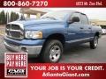 2002 Atlantic Blue Pearl Dodge Ram 1500 ST Quad Cab 4x4  photo #1