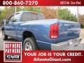 2002 Atlantic Blue Pearl Dodge Ram 1500 ST Quad Cab 4x4  photo #2