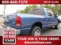 2002 Atlantic Blue Pearl Dodge Ram 1500 ST Quad Cab 4x4  photo #3