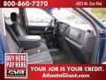 2002 Atlantic Blue Pearl Dodge Ram 1500 ST Quad Cab 4x4  photo #9