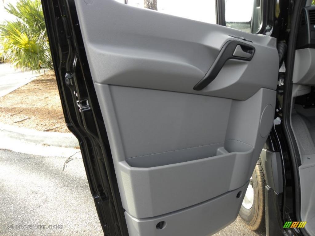2011 Mercedes Benz Sprinter 2500 High Roof Passenger Van Black Door Panel Photo 44156093