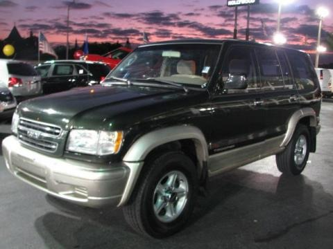 1997 isuzu trooper colors