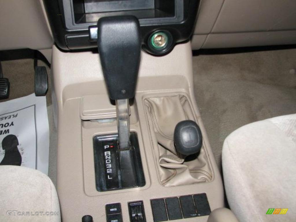 2001 isuzu trooper s 4x4 4 speed automatic transmission photo