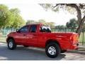 2002 Flame Red Dodge Ram 1500 Sport Quad Cab 4x4  photo #5