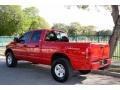 2002 Flame Red Dodge Ram 1500 Sport Quad Cab 4x4  photo #6