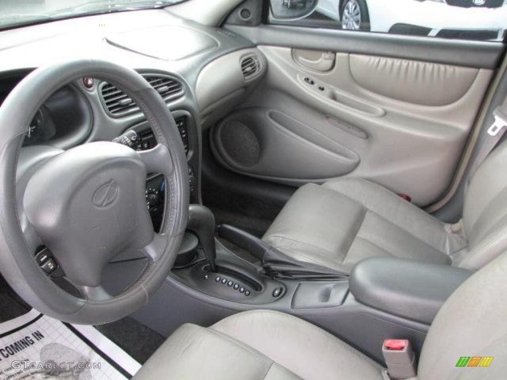 Pewter Interior 2000 Oldsmobile Alero Gls Sedan Photo