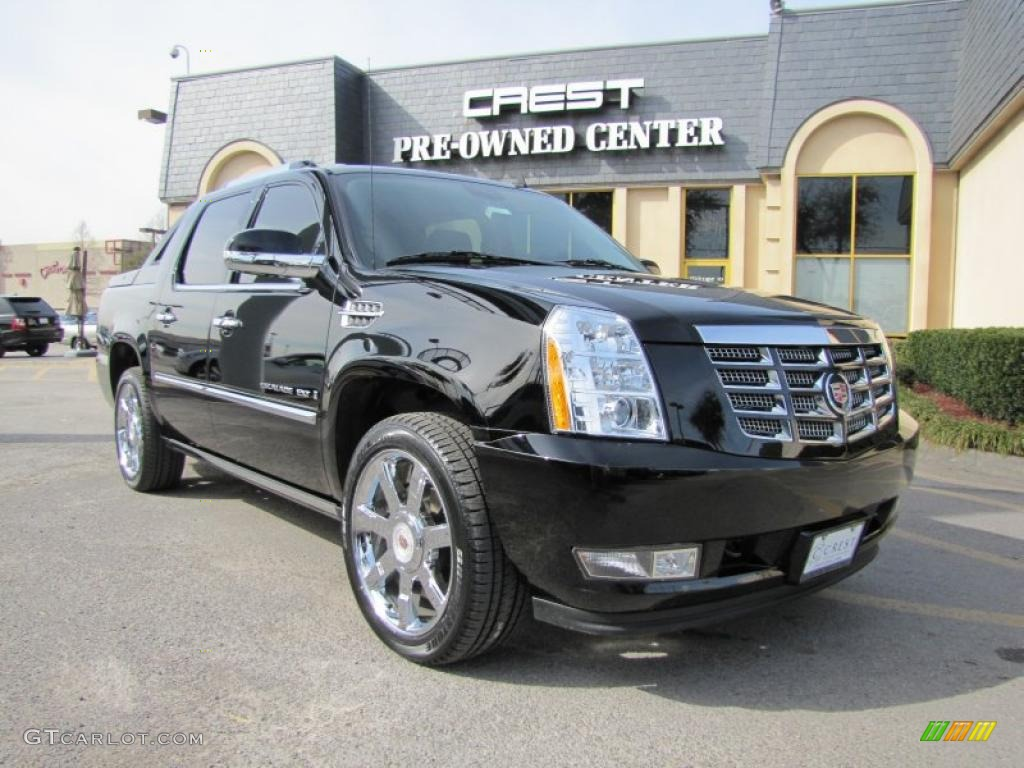 2009 black raven cadillac escalade ext awd 44088490 car color galleries. Black Bedroom Furniture Sets. Home Design Ideas