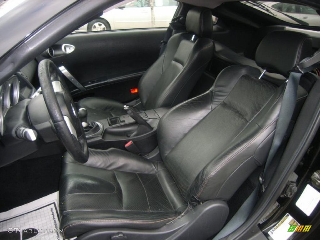 charcoal interior 2004 nissan 350z touring coupe photo. Black Bedroom Furniture Sets. Home Design Ideas