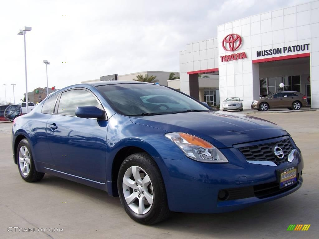 2008 azure blue metallic nissan altima 25 s coupe 4408559 photo azure blue metallic nissan altima vanachro Gallery