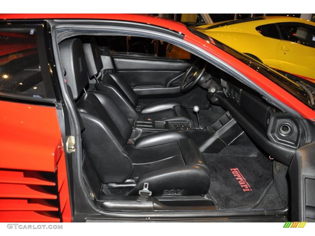 1991 Ferrari Testarossa Standard Testarossa Model interior