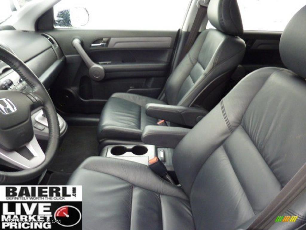 2008 CR-V EX-L 4WD - Royal Blue Pearl / Black photo #10