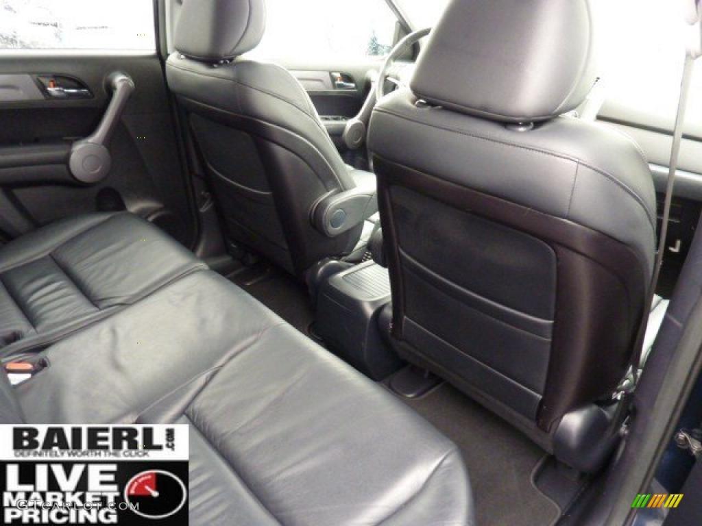 2008 CR-V EX-L 4WD - Royal Blue Pearl / Black photo #16