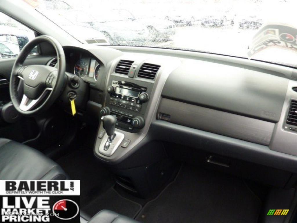 2008 CR-V EX-L 4WD - Royal Blue Pearl / Black photo #17