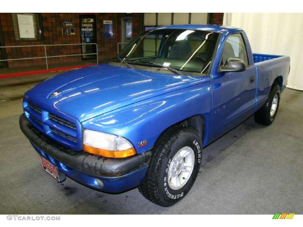 intense blue pearl 1999 dodge dakota sport regular cab. Black Bedroom Furniture Sets. Home Design Ideas