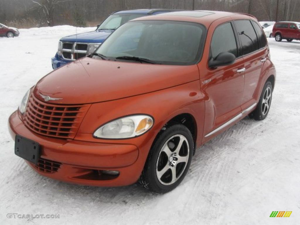 2003 PT Cruiser Dream Cruiser Series 2 - Tangerine Pearl / Dark Slate Gray/Orange photo #1