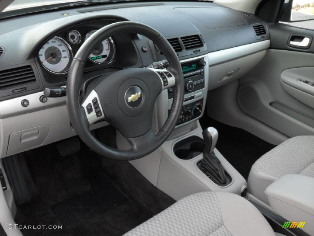 Gray Interior 2010 Chevrolet Cobalt LT Coupe Photo #44240221