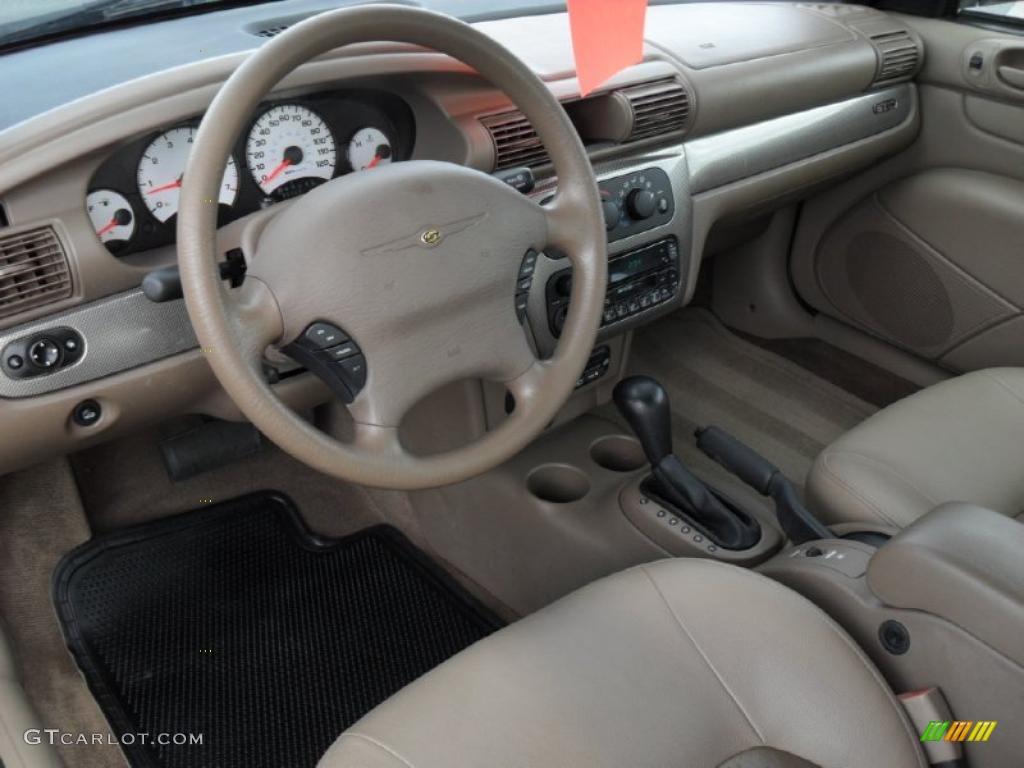 Sandstone Interior 2002 Chrysler Sebring Gtc Convertible Photo 44242901