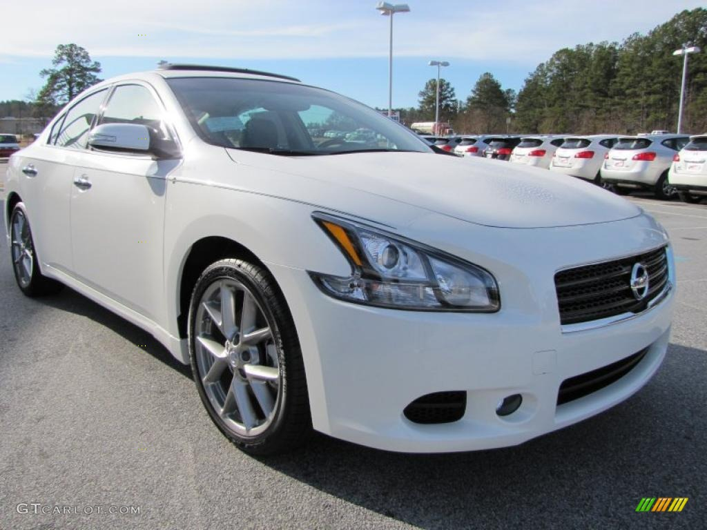 winter frost white 2011 nissan maxima 3 5 sv sport exterior photo 44255084. Black Bedroom Furniture Sets. Home Design Ideas