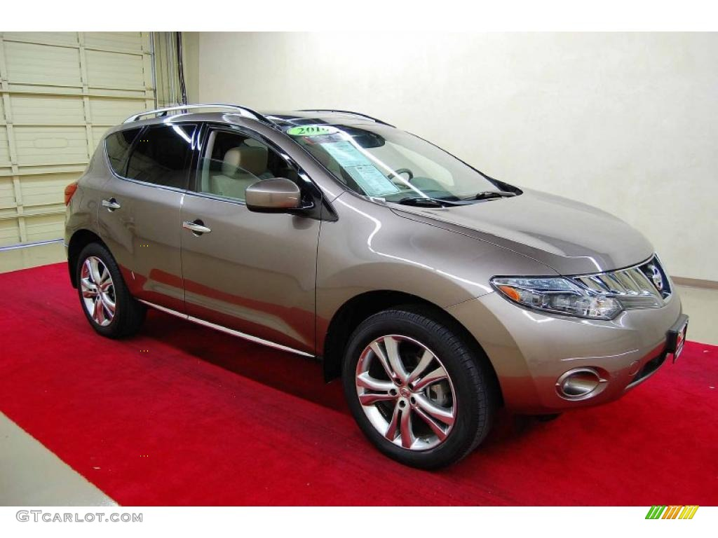 2010 Murano LE - Tinted Bronze Metallic / Beige photo #1