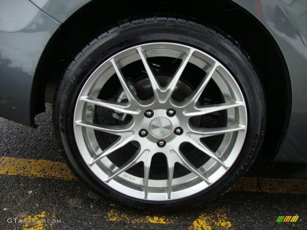 2011 Honda Accord Ex L V6 Coupe Custom Wheels Photo