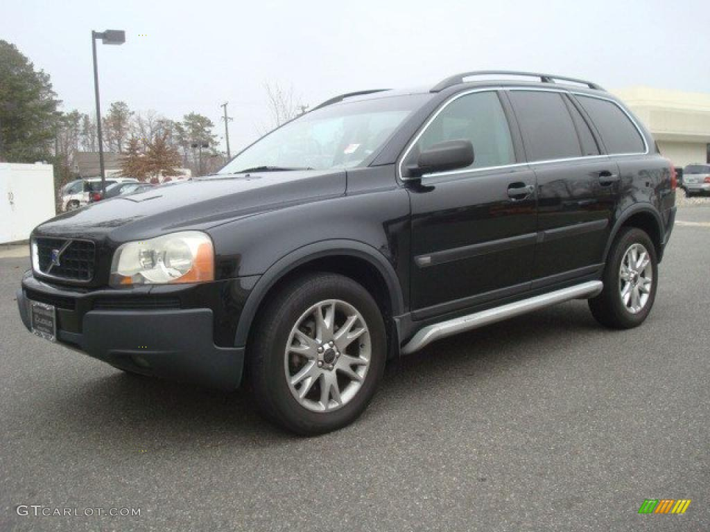 black 2004 volvo xc90 t6 awd exterior photo 44272180. Black Bedroom Furniture Sets. Home Design Ideas