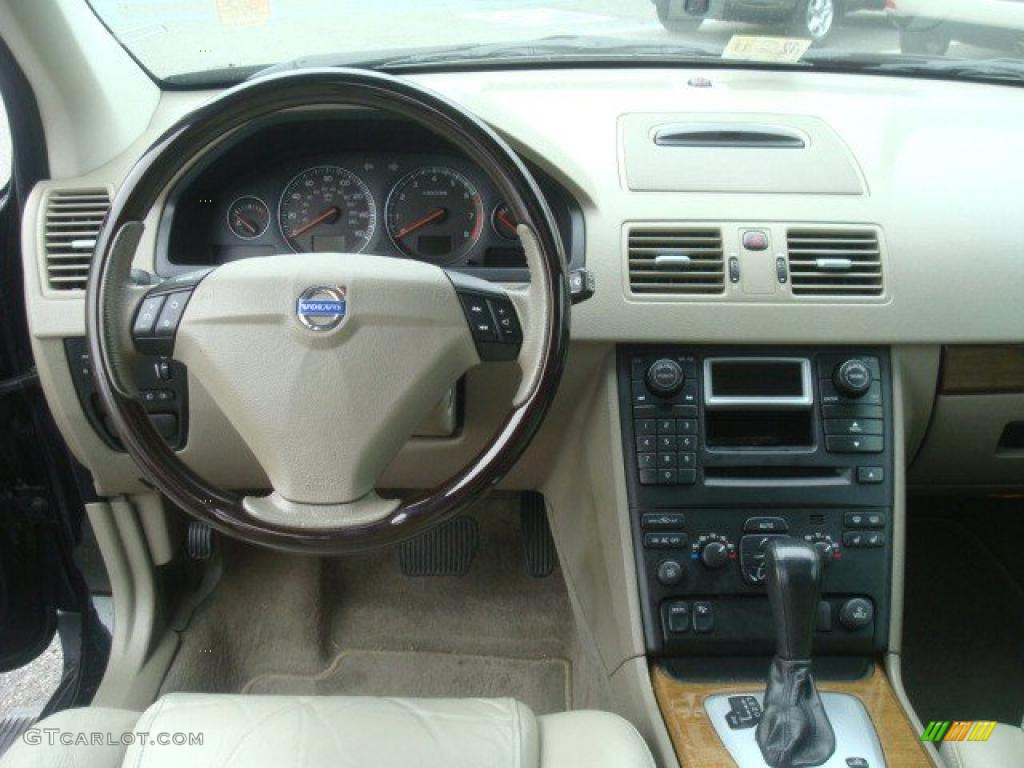 2004 Volvo Xc90 T6 Awd Taupe Light Taupe Dashboard Photo