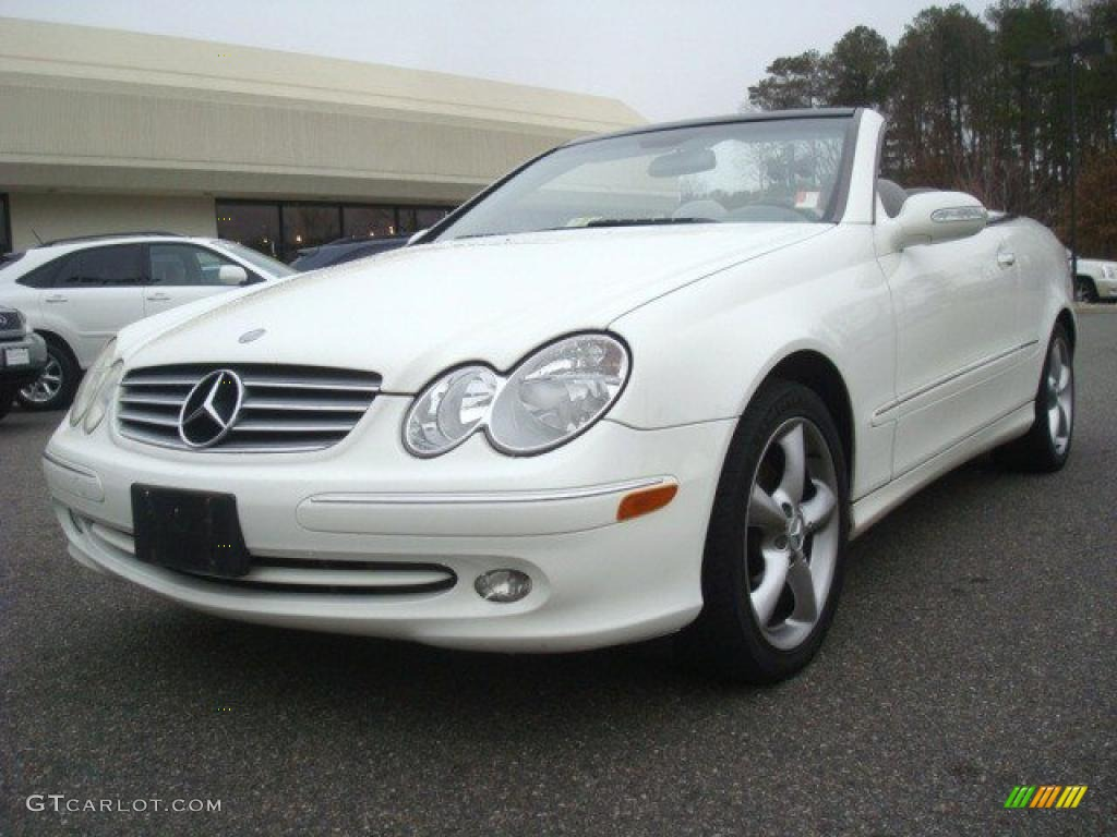 2005 alabaster white mercedes benz clk 320 cabriolet for Mercedes benz clk 2005