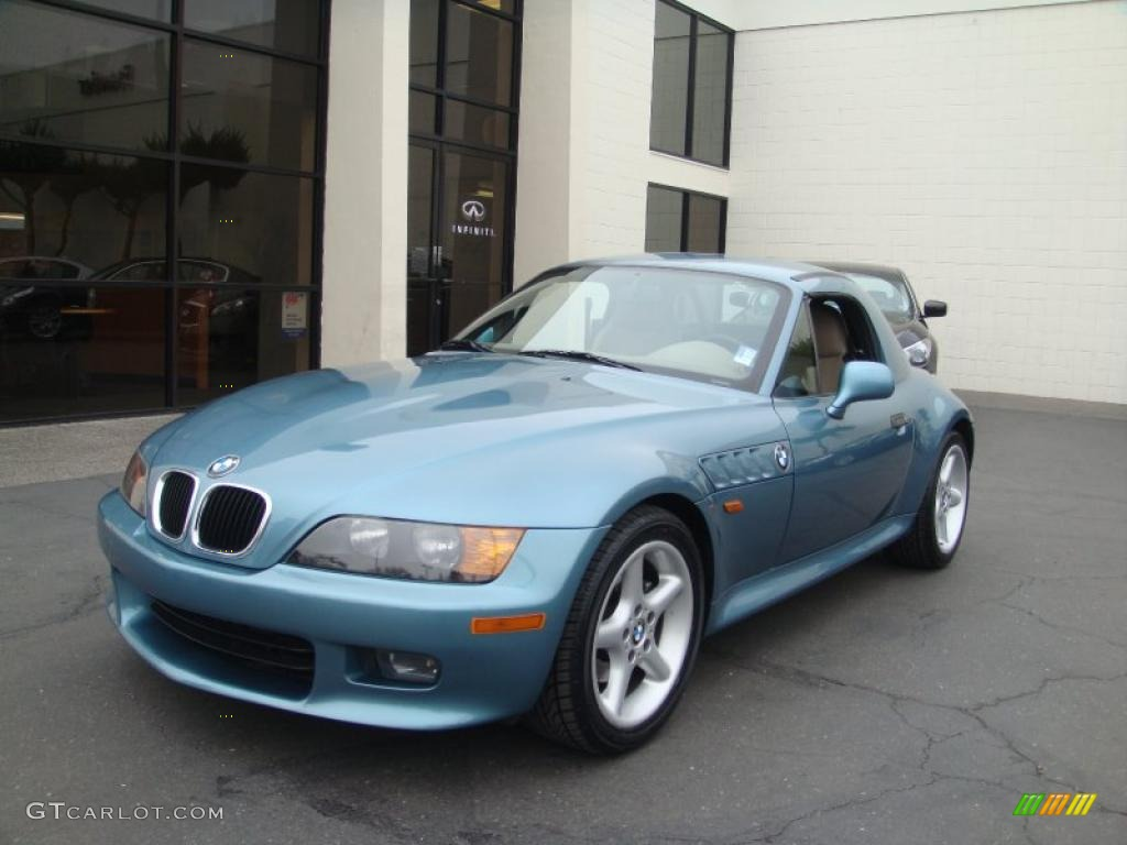 1998 Atlanta Blue Metallic Bmw Z3 2 8 Roadster 44203323