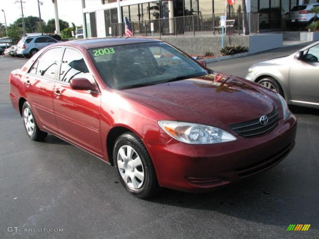 2003 salsa red pearl toyota camry le 44205003 photo 18 car color galleries. Black Bedroom Furniture Sets. Home Design Ideas