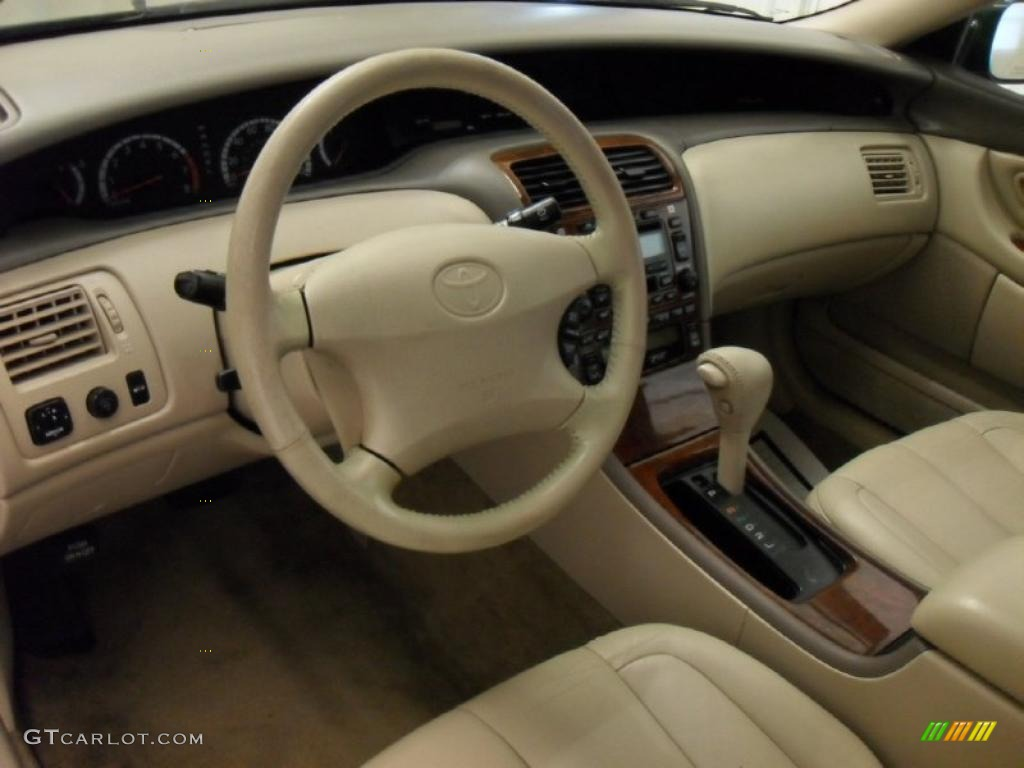 2001 Avalon XLS   Woodland Green Pearl / Taupe Photo #32