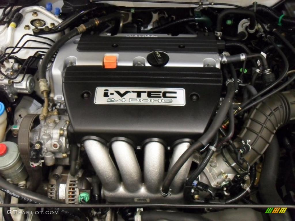 2004 Honda Accord Ex Coupe 2 4 Liter Dohc 16 Valve I Vtec 4 Cylinder Engine Photo 44324353