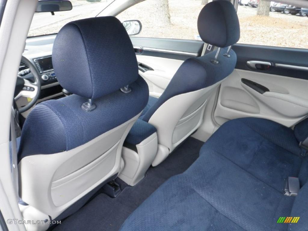 Blue Interior 2006 Honda Civic Hybrid Sedan Photo 44332846
