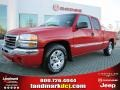 Fire Red 2006 GMC Sierra 1500 SL Extended Cab