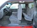 2006 Sierra 1500 SL Extended Cab Dark Pewter Interior