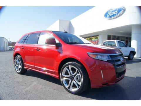 2011 Ford Edge Sport Exterior. 2011