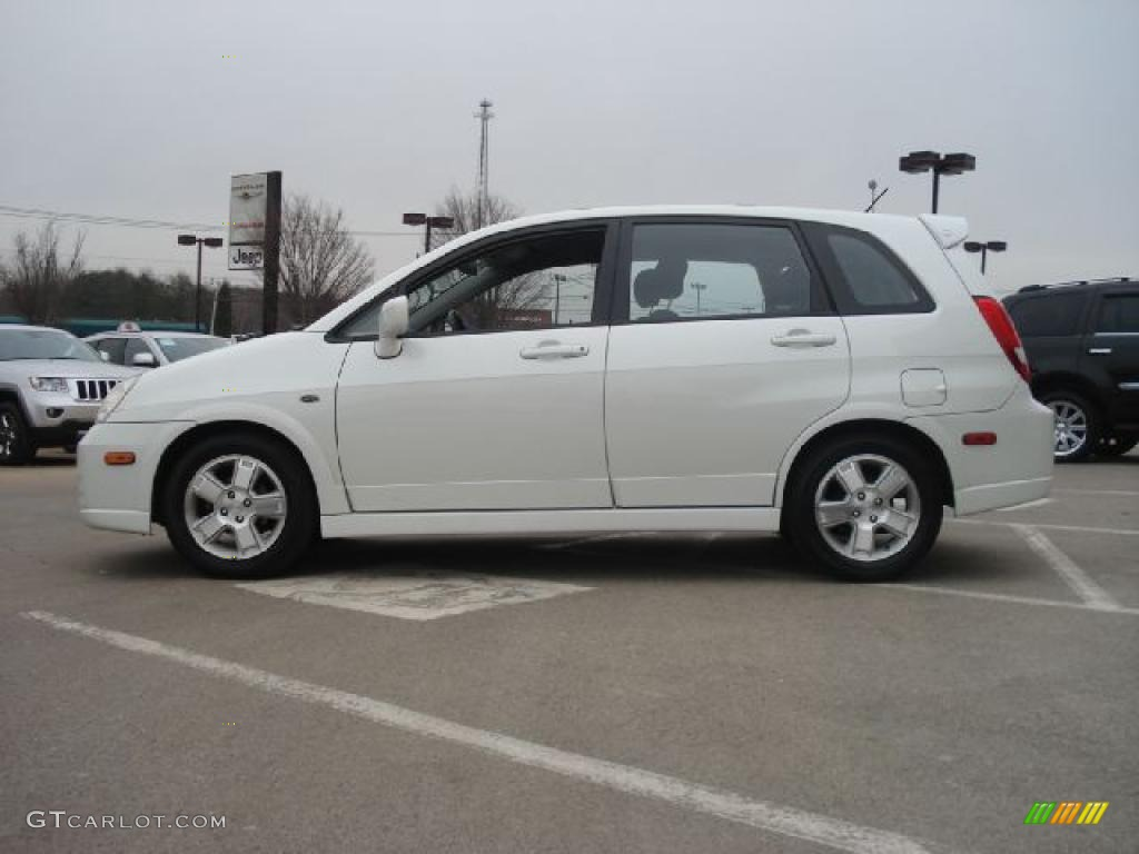 white pearl 2003 suzuki aerio sx sport wagon exterior. Black Bedroom Furniture Sets. Home Design Ideas