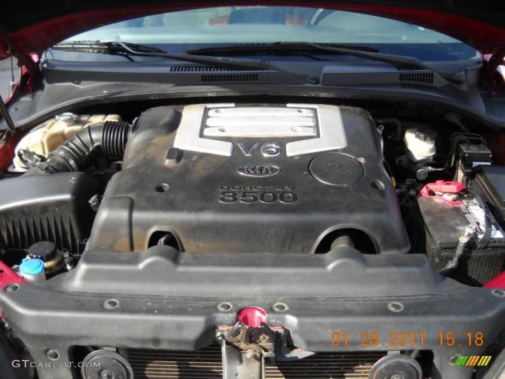 2005 Kia Sorento LX 3.5 Liter DOHC 24-Valve V6 Engine ...