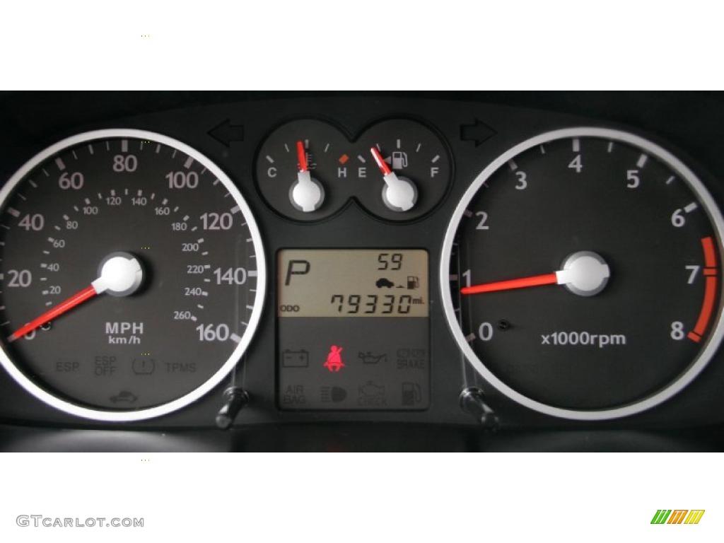 2006 Hyundai Tiburon Gt Gauges Photo 44463166 Gtcarlot Com