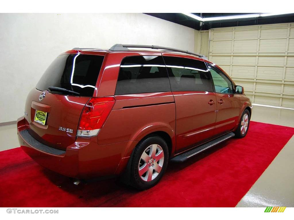 2005 autumn red metallic nissan quest 3 5 se 4430538 photo 7 car color galleries. Black Bedroom Furniture Sets. Home Design Ideas