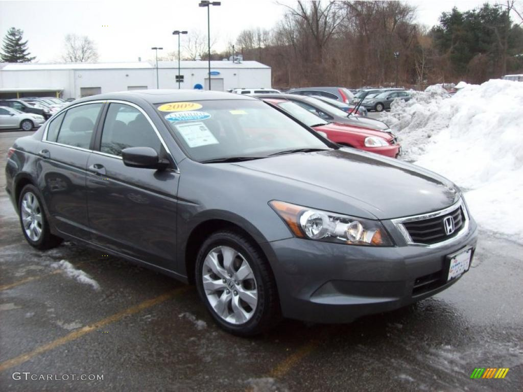 2009 Polished Metal Metallic Honda Accord Ex Sedan