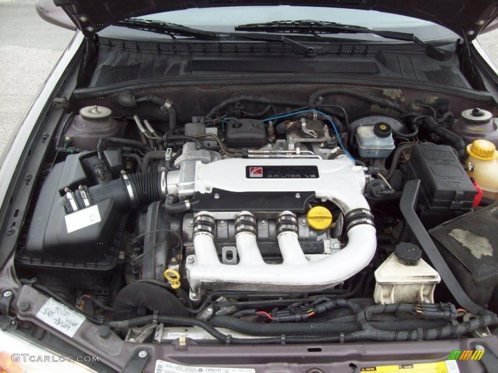 2000 Saturn L Series Ls2 Sedan 3 0 Liter Dohc 24v V6 Engine Photo 44524027