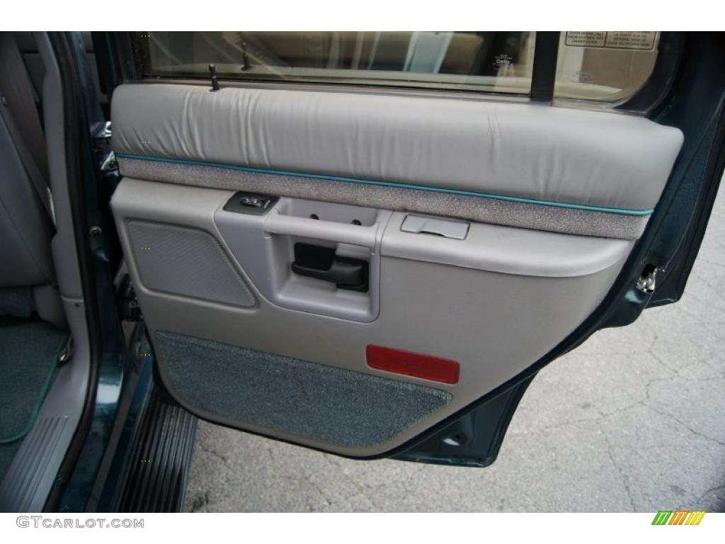 1994 ford explorer limited 4x4 gray door panel photo. Black Bedroom Furniture Sets. Home Design Ideas