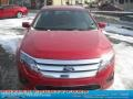 2011 Red Candy Metallic Ford Fusion SE  photo #20