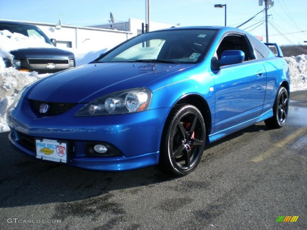 vivid blue pearl 2006 acura rsx type s sports coupe exterior photo 44530600. Black Bedroom Furniture Sets. Home Design Ideas