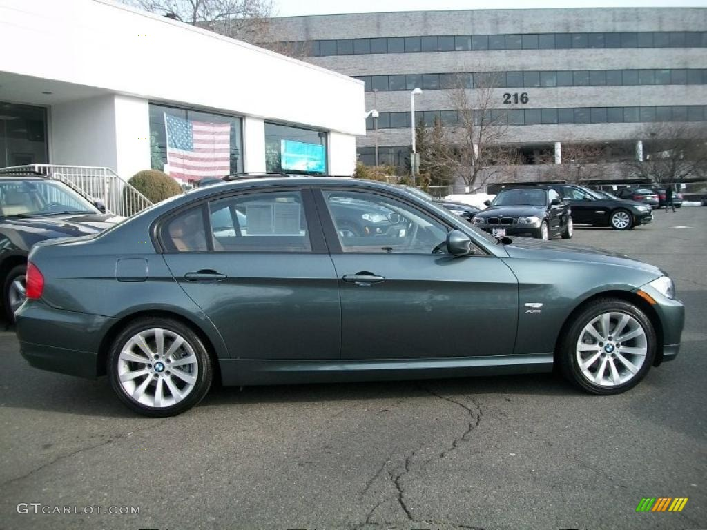 2011 tasman green metallic bmw 3 series 328i xdrive sedan. Black Bedroom Furniture Sets. Home Design Ideas