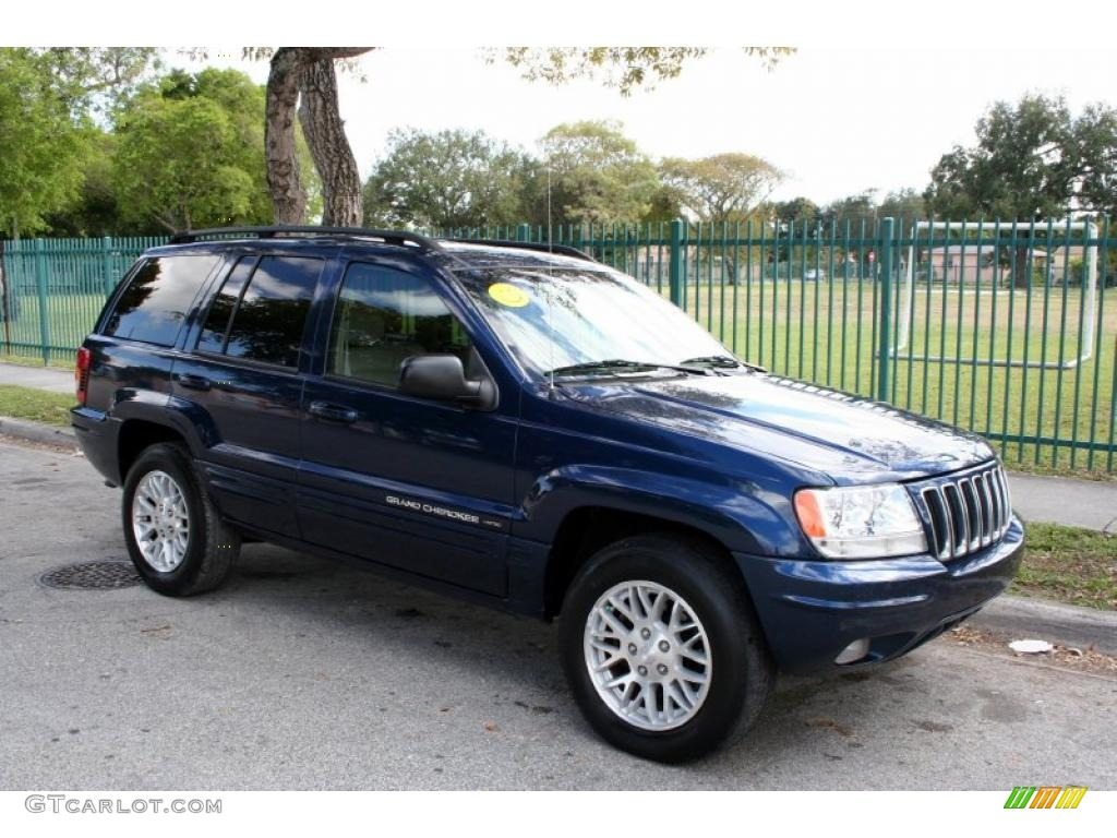 patriot blue pearl 2003 jeep grand cherokee limited 4x4 exterior photo. Cars Review. Best American Auto & Cars Review