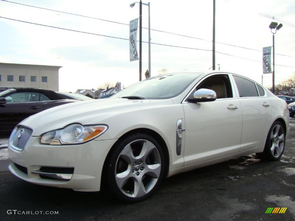 2009 porcelain white jaguar xf supercharged 44508639 photo 7 car color galleries. Black Bedroom Furniture Sets. Home Design Ideas